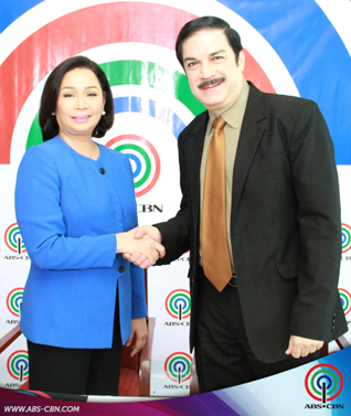CBN & ABS-CBN Contract Signing